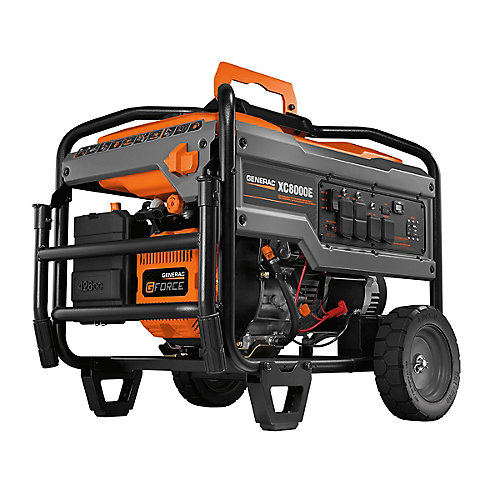XC 8000W Electric Start Gasoline Powered Portable Generator