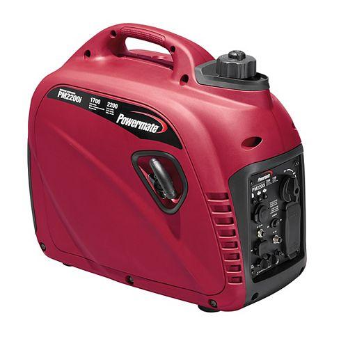 1700W Gasoline Powered Inverter Generator