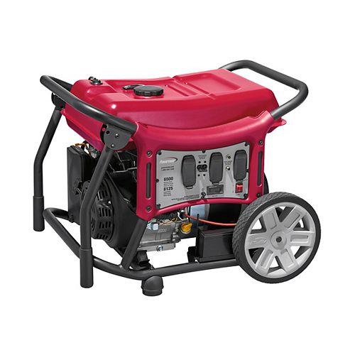 CX Series 6500 Watt Gasoline Portable Generator with Electric Start