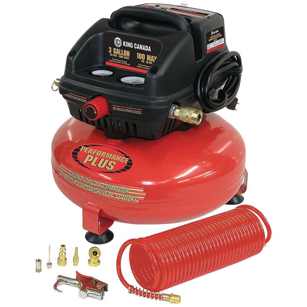 Performance Plus 11L Oil-Free Air Compressor Kit