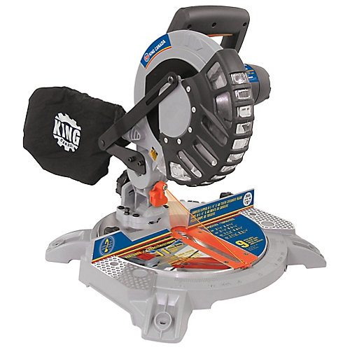 8 1/4 Inch Dual Compound Miter Saw with Laser