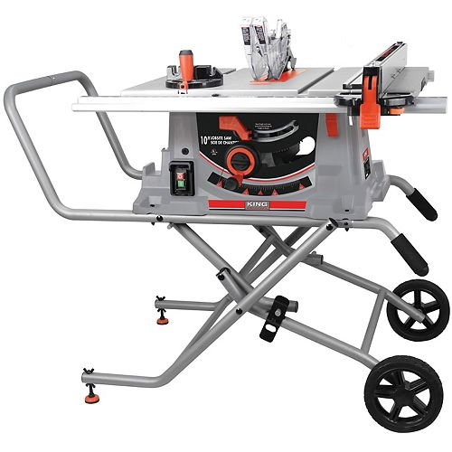 10-inch Jobsite Saw with Folding Stand