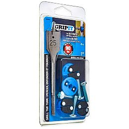 90-lb Hold Grip-It Drywall Anchor in Blue - 4pcs