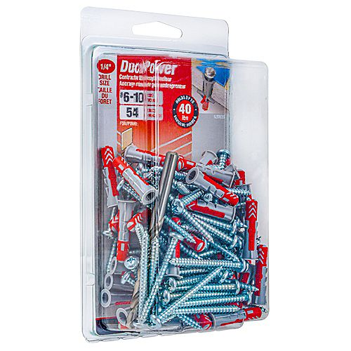 DuoPower #6-10 DuoPower(TM) Contractor Strength Anchor - 54pcs