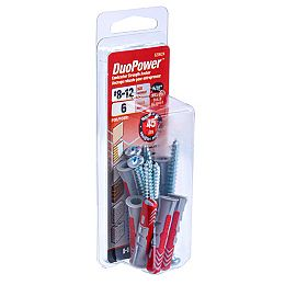 #8-12 DuoPower(TM) Contractor Strength Anchor - 6pcs