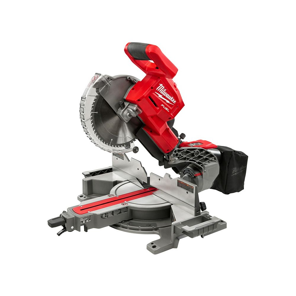 Milwaukee Tool M18 FUEL 18V Lithium-Ion Cordless 10-inch Dual Bevel Sliding Compound Miter Saw (Tool Only)