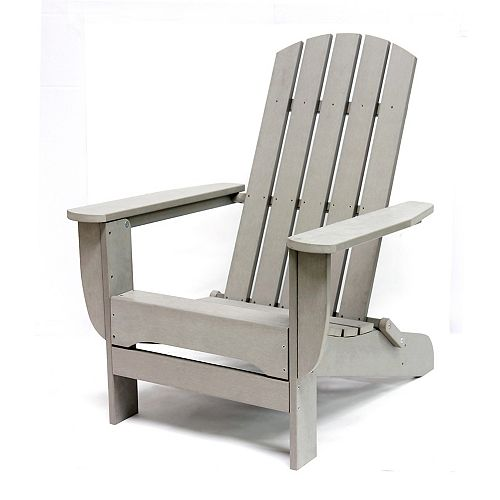 Hampton Bay Chaise Muskoka, gris
