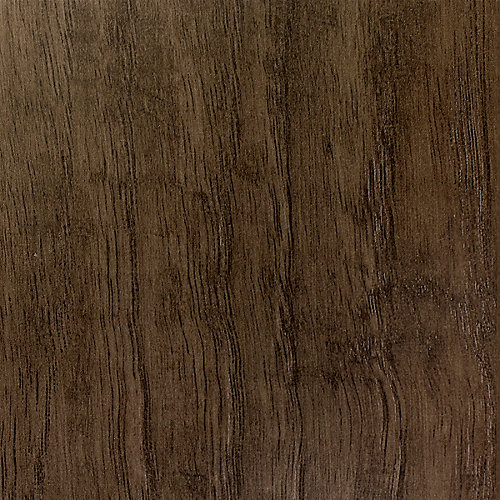 10mm Thick x 6-inch W Laminate Flooring in Hickory Dark Grey (Sample)
