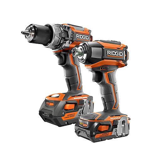GEN5X 18V Brushless Cordless Hammer Drill / 3-Speed Impact Driver Combo Kit (2-Tool)