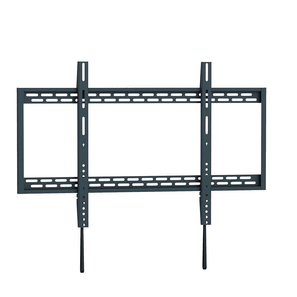 TygerClaw Fixed Wall Mount for 60 inch to 100 inch Flat Panel TV (LCD3406BLK)