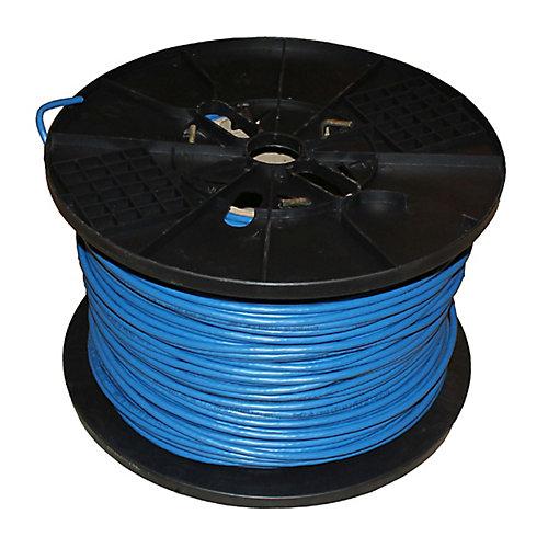 Tyger Wire 1000 pieds UTP FT6 CMP, Bleu