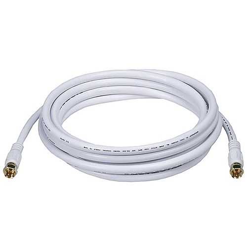 12 ft RG6 Coaxial Cable (RG621012WF)