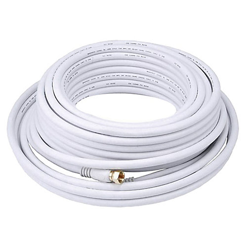 50 ft RG6 Coaxial Cable (RG621050WF)