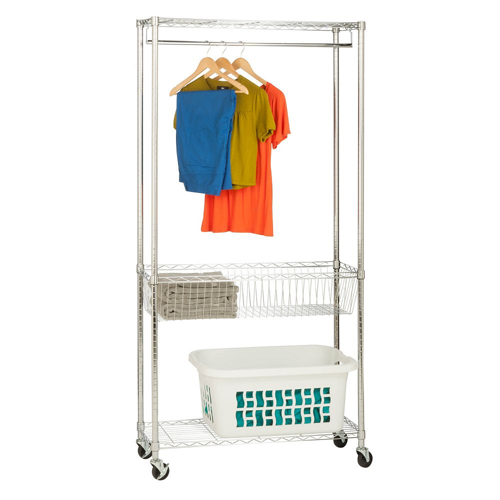 Honey-Can-Do Laundry Storage Station