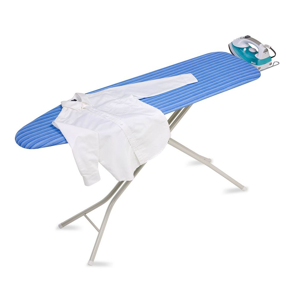 Honey Can Do 4 Leg Ironing Board With Retractable Iron Rest The Home Depot Canada