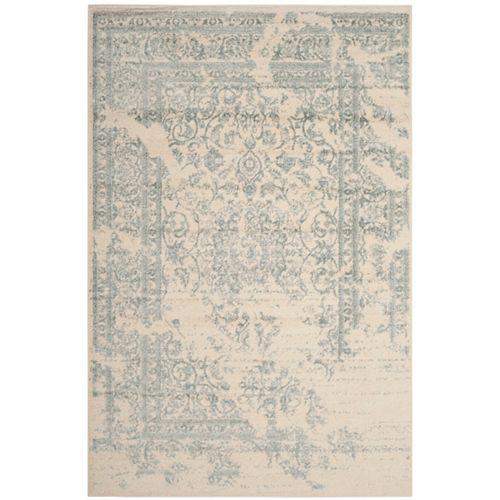 Safavieh Adirondack Alexa Ivory / Slate 6 ft. x 9 ft. Indoor Area Rug