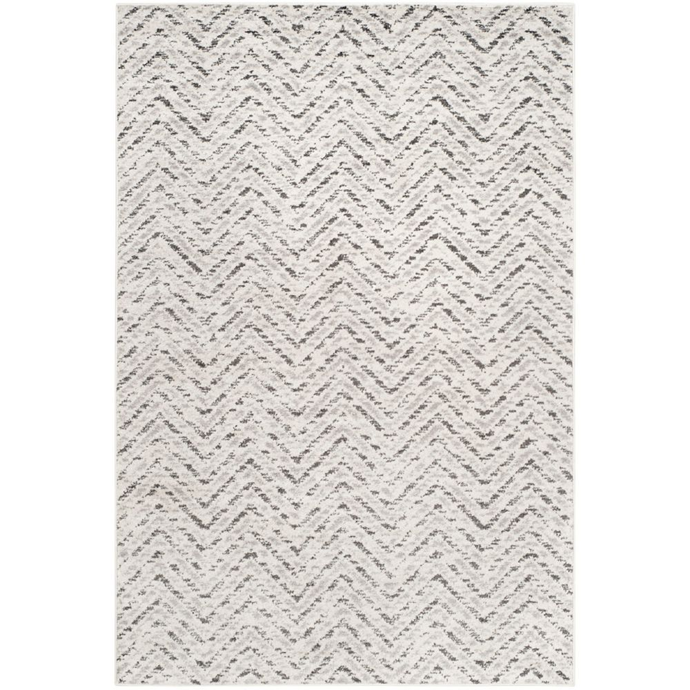 Safavieh Adirondack Kevin Ivory / Charcoal 5 ft. 1 inch x 7 ft. 6 inch Indoor Area Rug