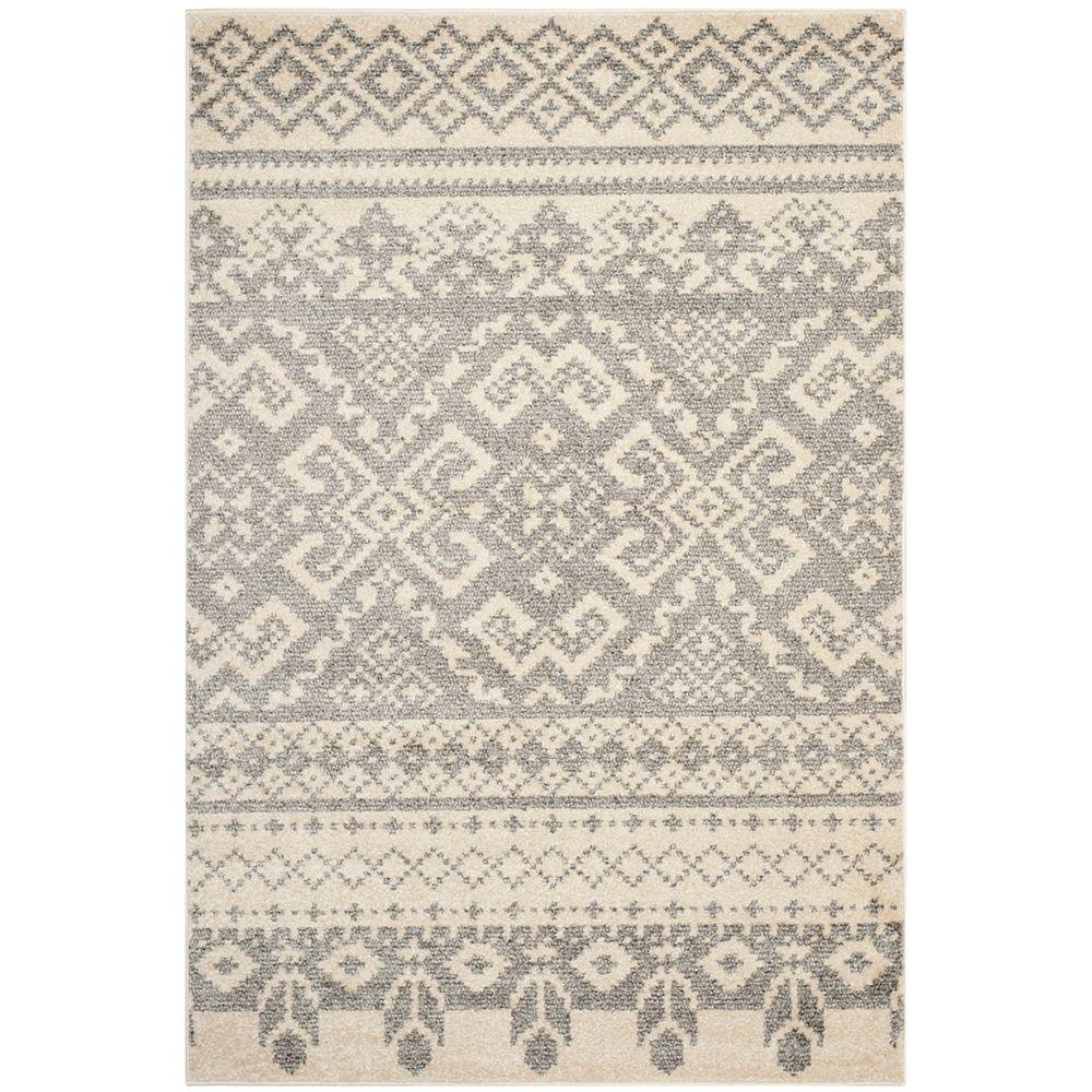 Safavieh Adirondack Karina Ivory / Silver 4 ft. x 6 ft. Indoor Area Rug