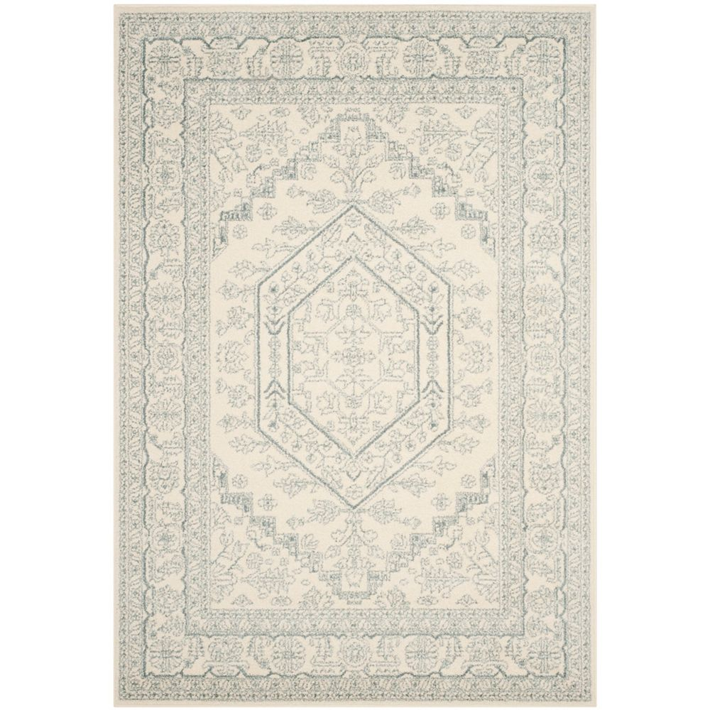 Safavieh Adirondack Winston Ivory / Slate 5 ft. 1 inch x 7 ft. 6 inch Indoor Area Rug