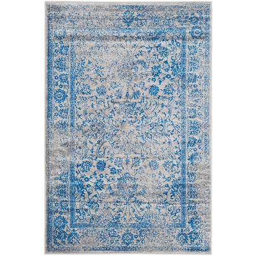 Safavieh Adirondack Mackenzie Grey / Blue 4 ft. x 6 ft. Indoor Area Rug