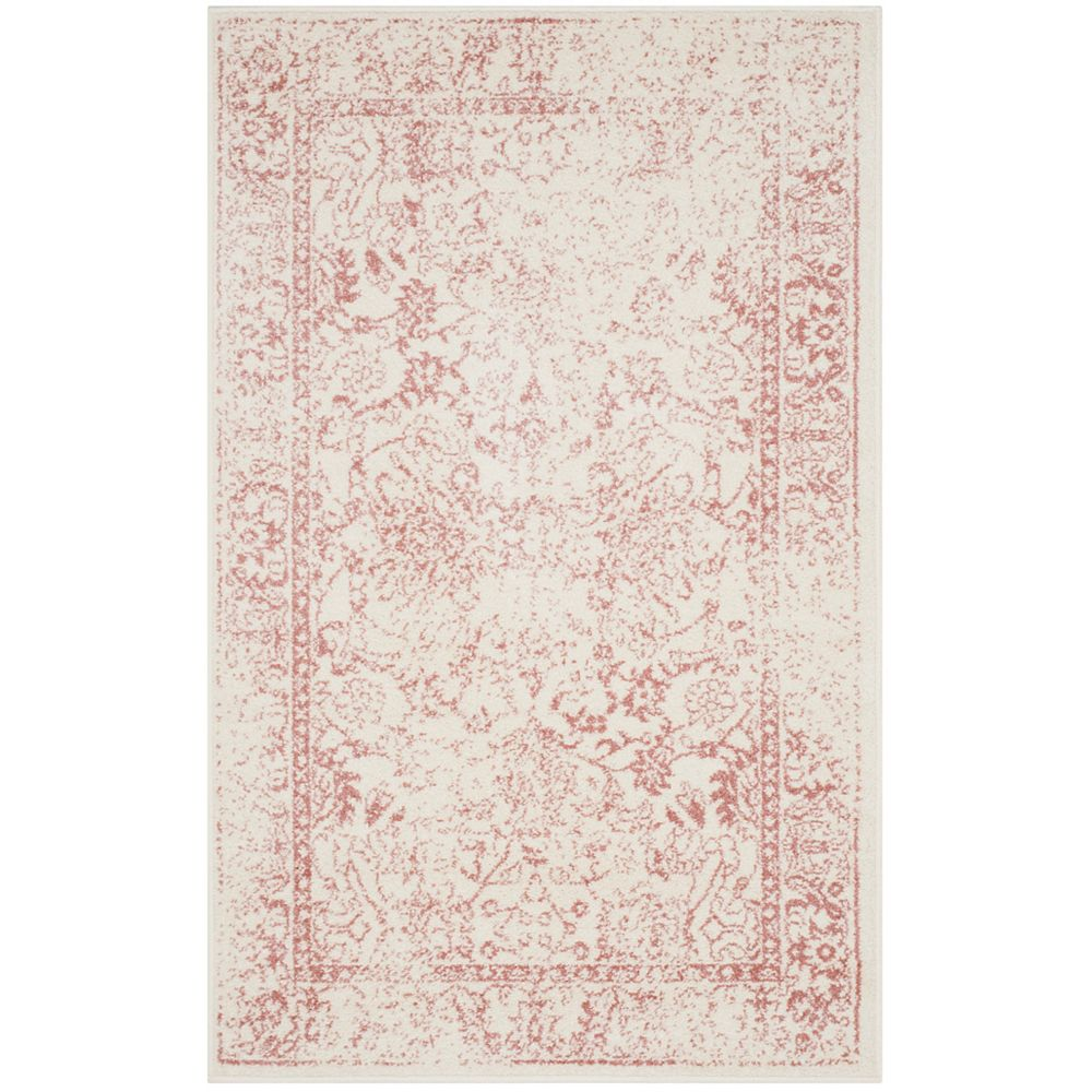 Safavieh Adirondack Mackenzie Ivory / Rose 3 ft. x 5 ft. Indoor Area Rug