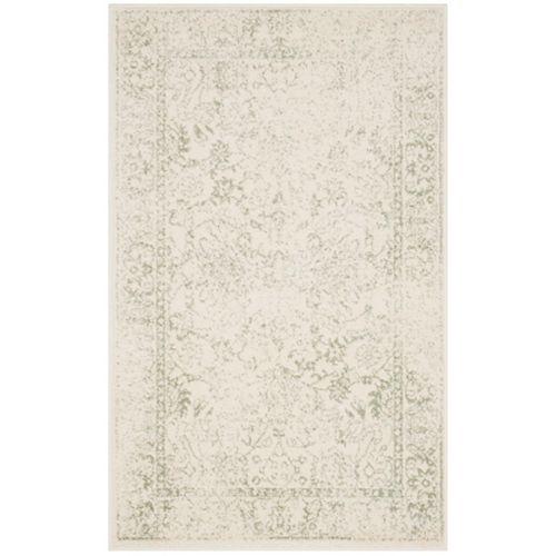 Carpette d'intérieur, 3 pi x 5 pi, style traditionnel, rectangulaire, havane Adirondack