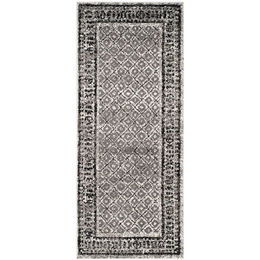 Safavieh Adirondack Luther Ivory / Silver 2 ft. 6 inch x 6 ft. Indoor Runner