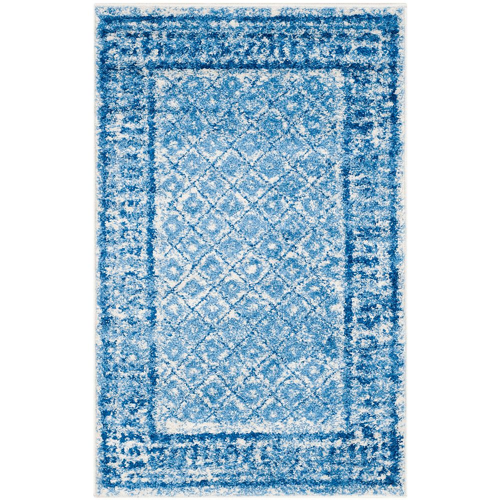 Safavieh Adirondack Luther Silver / Blue 2 ft. 6 inch x 4 ft. Indoor Area Rug