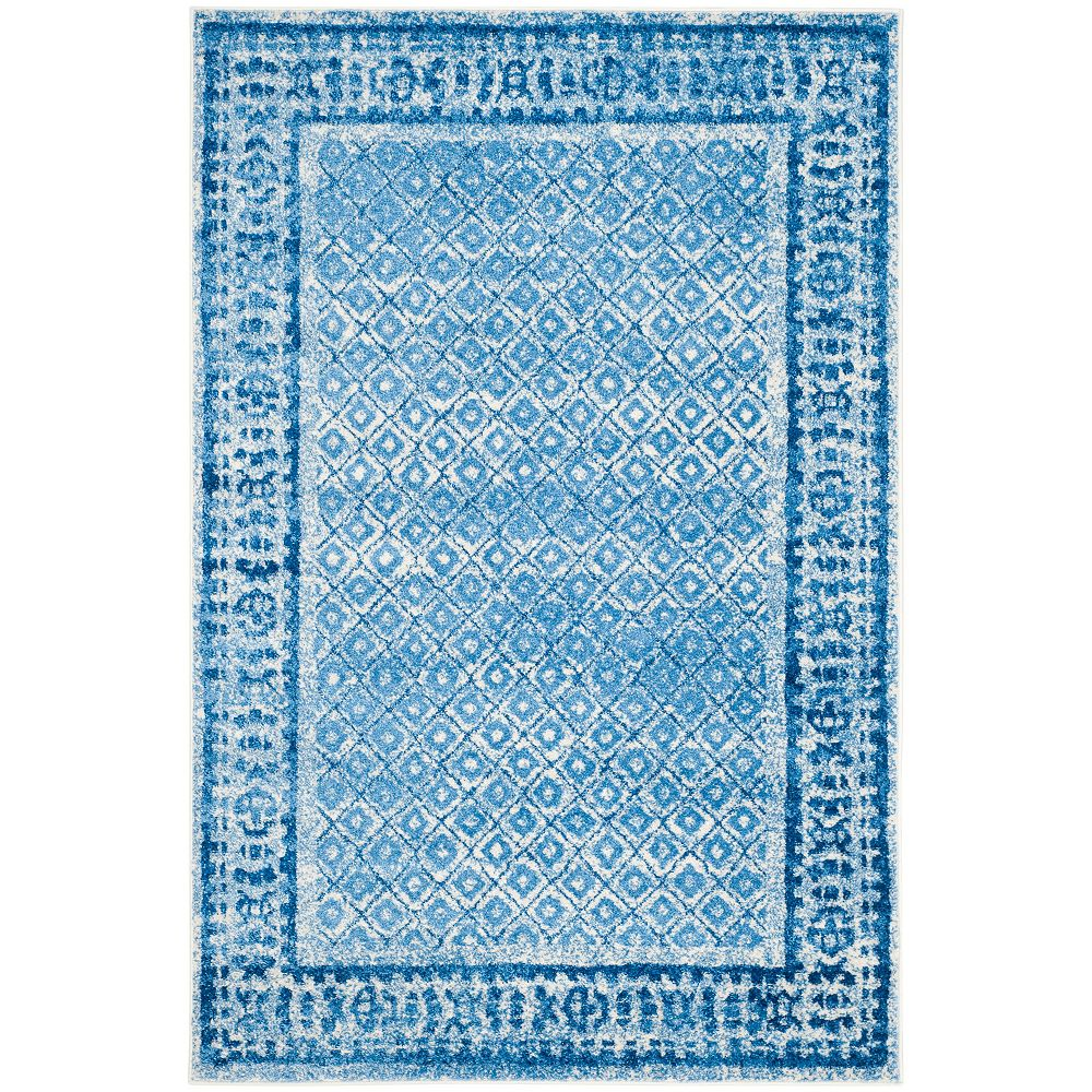 Safavieh Adirondack Luther Silver / Blue 5 ft. 1 inch x 7 ft. 6 inch Indoor Area Rug