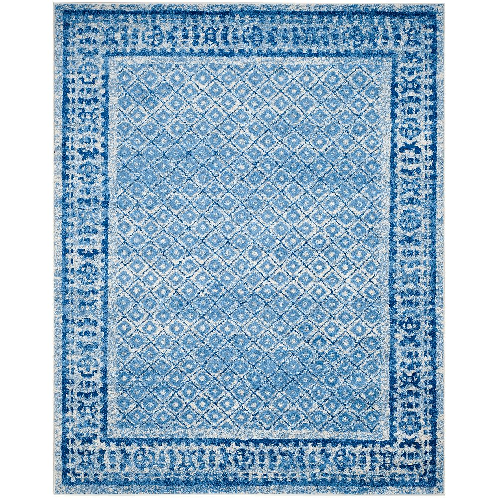 Safavieh Adirondack Luther Silver / Blue 8 ft. x 10 ft. Indoor Area Rug