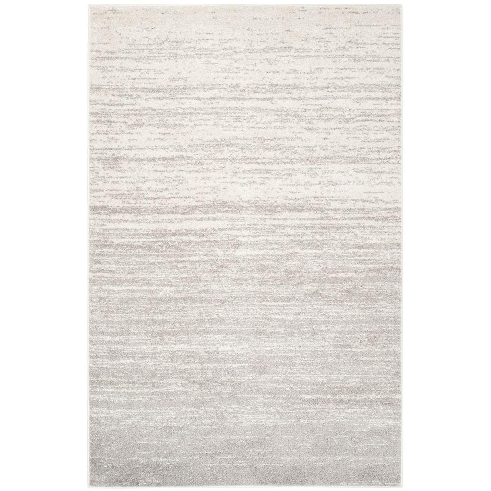 Safavieh Adirondack Brian Ivory / Silver 4 ft. x 6 ft. Indoor Area Rug