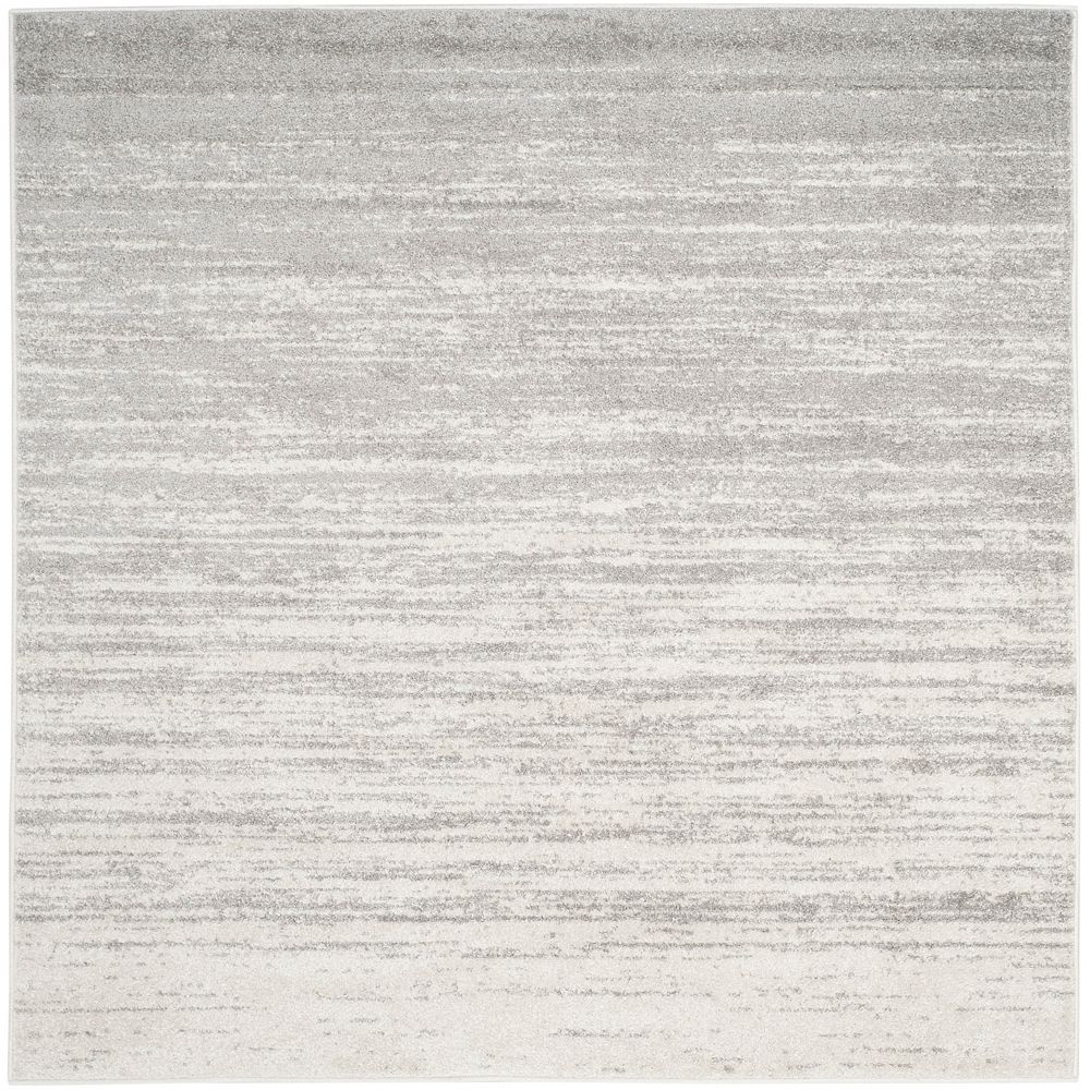 Safavieh Adirondack Brian Ivory / Silver 4 ft. x 4 ft. Indoor Square Area Rug