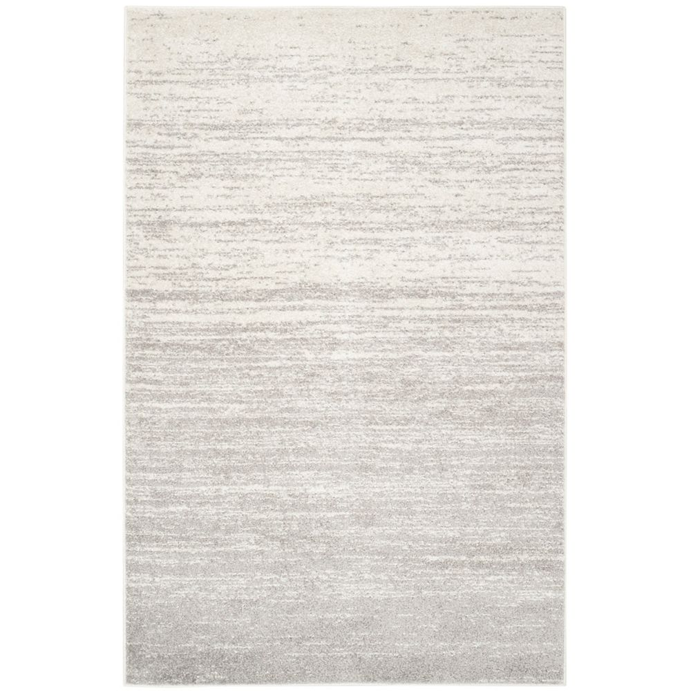 Safavieh Adirondack Brian Ivory / Silver 5 ft. 1 inch x 7 ft. 6 inch Indoor Area Rug