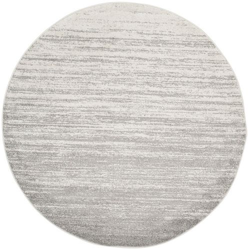Safavieh Adirondack Brian Ivory / Silver 8 ft. x 8 ft. Indoor Round Area Rug