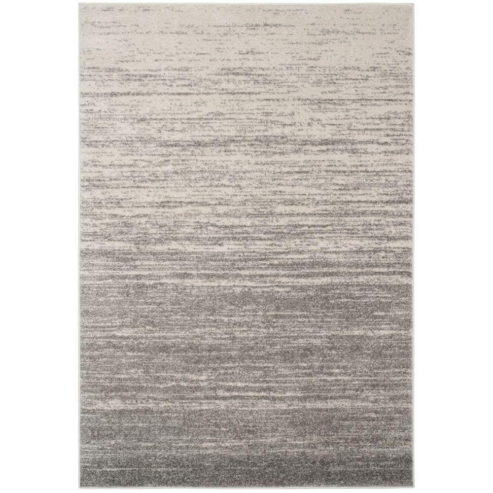 Safavieh Adirondack Brian Light Grey / Grey 6 ft. x 9 ft. Indoor Area Rug