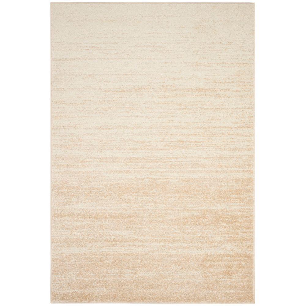 Safavieh Adirondack Brian Champagne / Cream 8 ft. x 10 ft. Indoor Area Rug