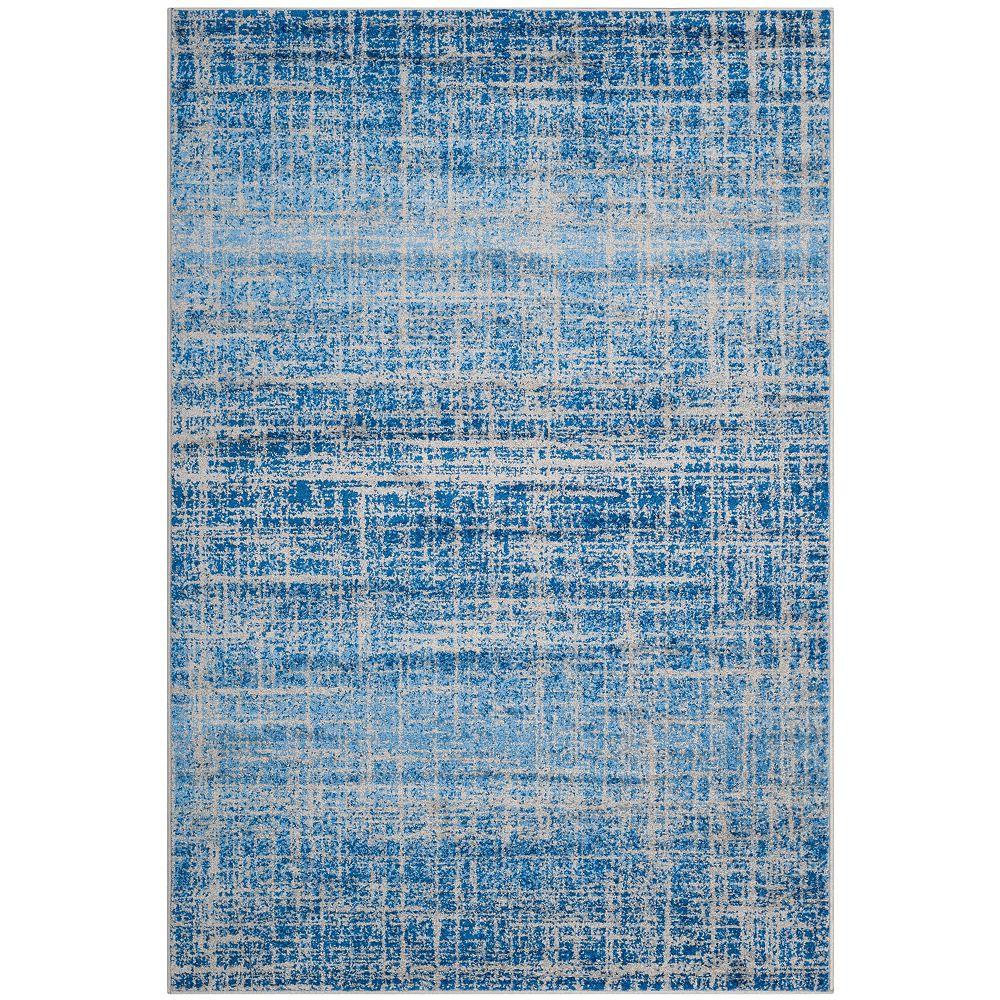 Safavieh Adirondack Janice Blue / Silver 4 ft. x 6 ft. Indoor Area Rug
