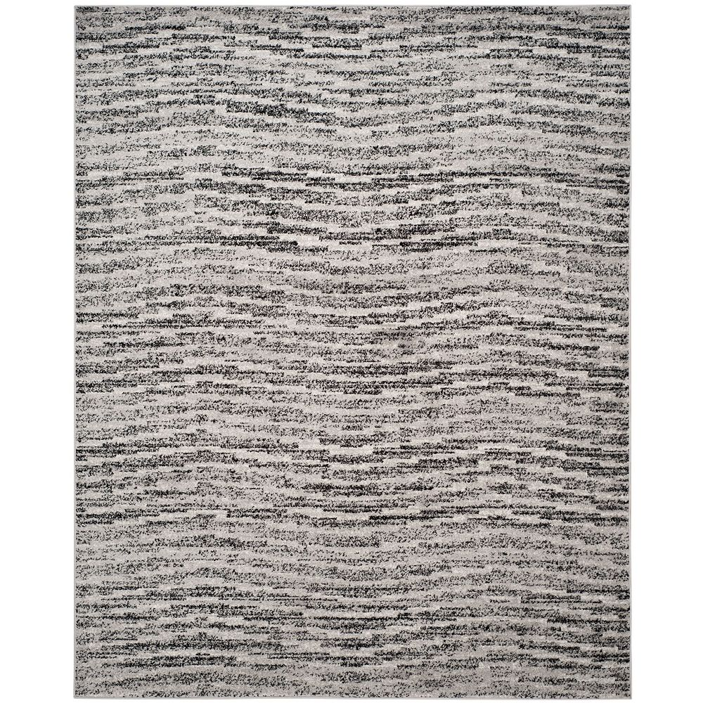 Safavieh Adirondack Leonard Black / Silver 8 ft. x 10 ft. Indoor Area Rug