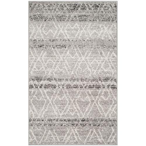 Safavieh Adirondack Elfrid Silver / Ivory 3 ft. x 5 ft. Indoor Area Rug