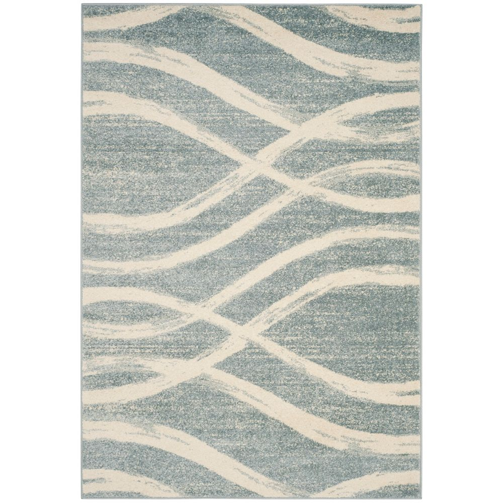 Safavieh Adirondack Gerald Cream / Slate 8 ft. x 10 ft. Indoor Area Rug