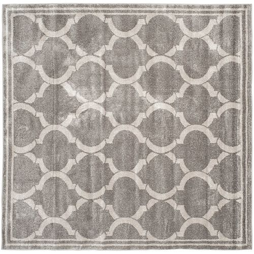 Safavieh Amherst Javier Grey / Light Grey 7 ft. x 7 ft. Indoor/Outdoor Square Area Rug