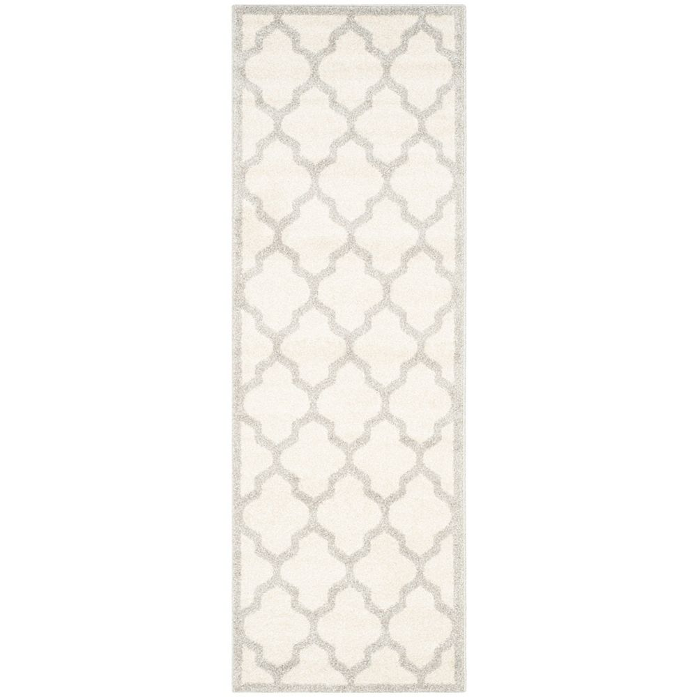 Safavieh Amherst Bradford Beige / Light Grey 2 ft. 3 inch x 11 ft. Indoor/Outdoor Runner