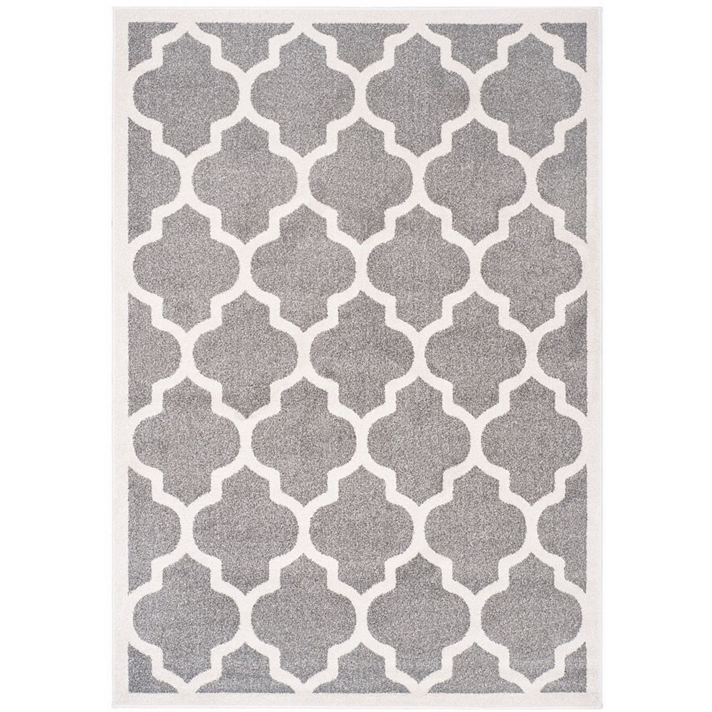 Safavieh Amherst Bradford Dark Grey / Beige 5 ft. x 8 ft. Indoor/Outdoor Area Rug