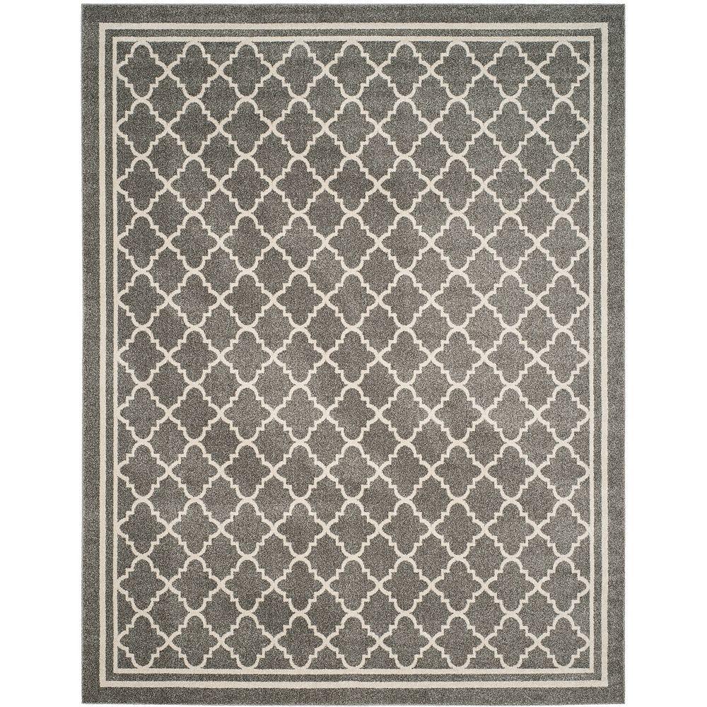 Safavieh Amherst Blanche Dark Grey / Beige 8 ft. x 10 ft. Indoor/Outdoor Area Rug