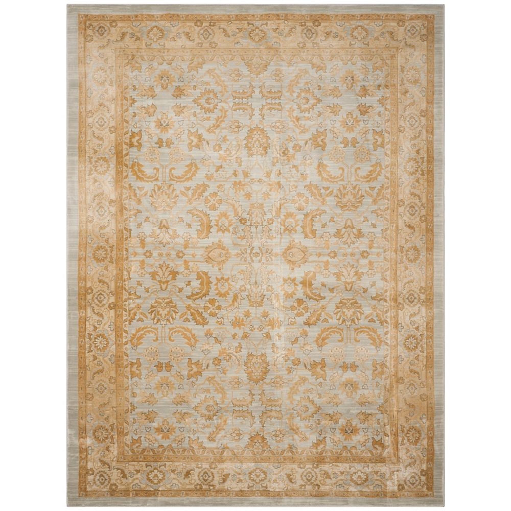 Safavieh Austin Winslow Light Blue / Gold 5 ft. 3 inch x 7 ft. 6 inch Indoor Area Rug