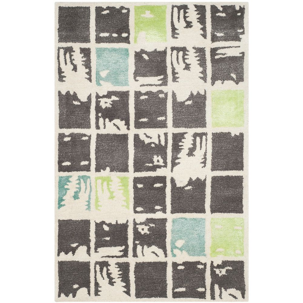 Safavieh Bella Cassius Grey Ivory 2 Ft 6 Inch X 4 Ft Indoor Area Rug The Home Depot Canada