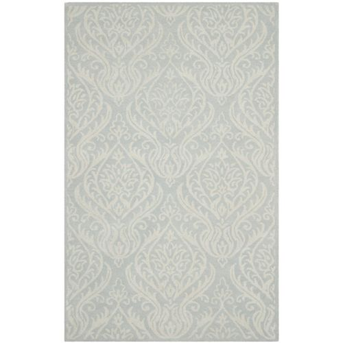 Safavieh Bella Sophie Silver / Ivory 4 ft. x 6 ft. Indoor Area Rug