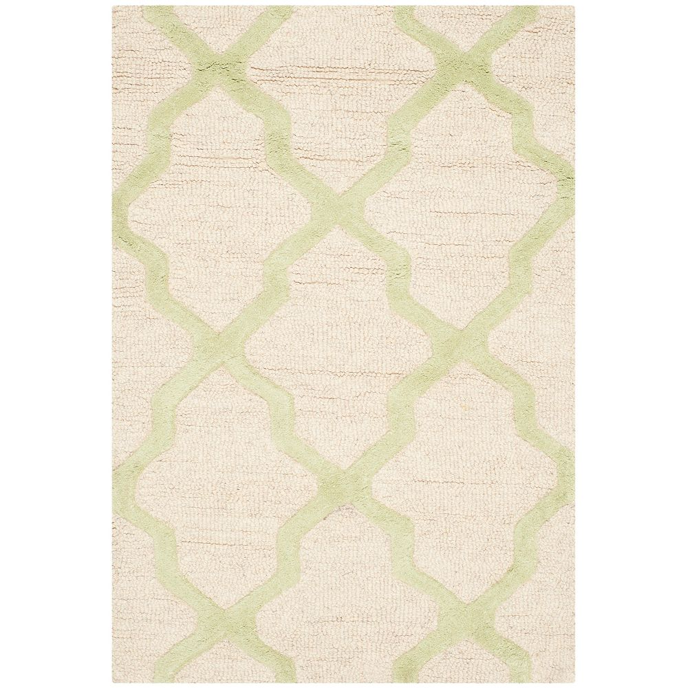 Safavieh Cambridge Giselle Ivory / Light Green 2 ft. x 3 ft. Indoor Area Rug