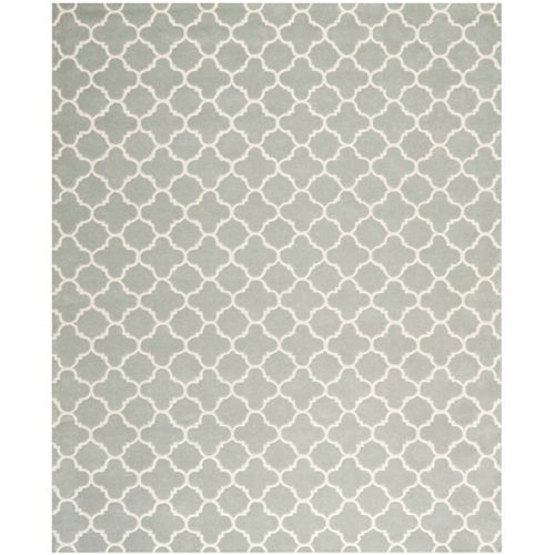 Safavieh Chatham Leslie Grey / Ivory 7 ft. 6 inch x 9 ft. 6 inch Indoor Area Rug