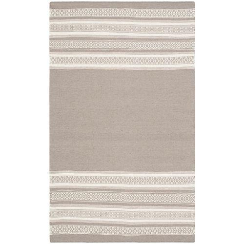 Safavieh Dhurries Selma Light Brown 3 ft. x 5 ft. Indoor Area Rug